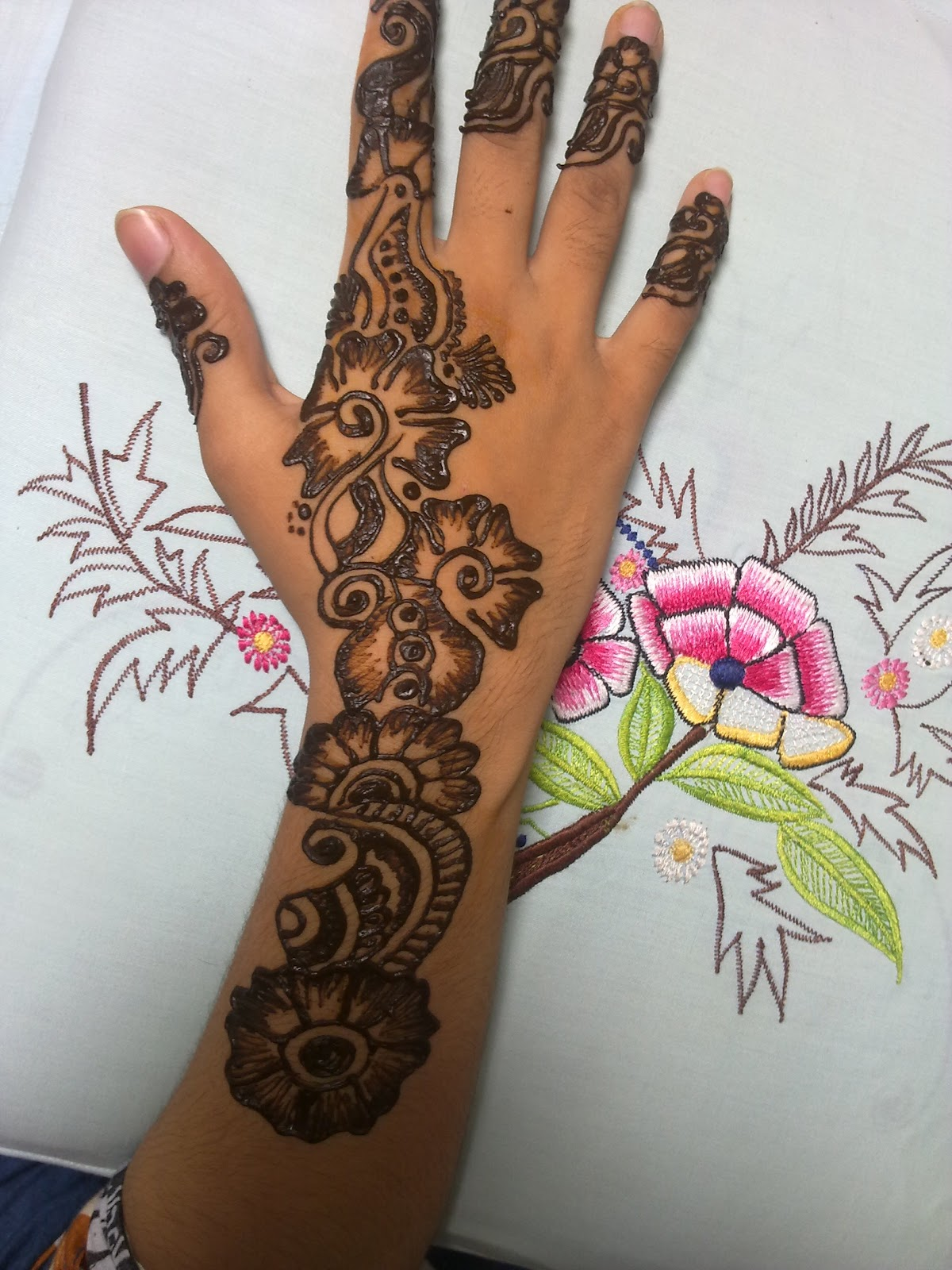 Latest Henna Mehndi Design : Mehndi designs for hands latest arabic
