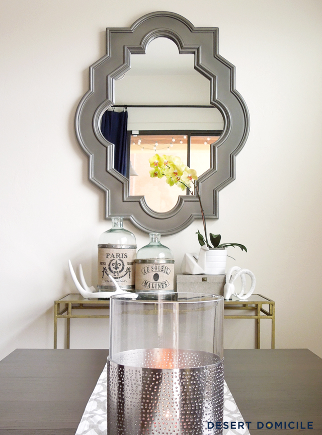 Gallery For Mirror Over Console Table