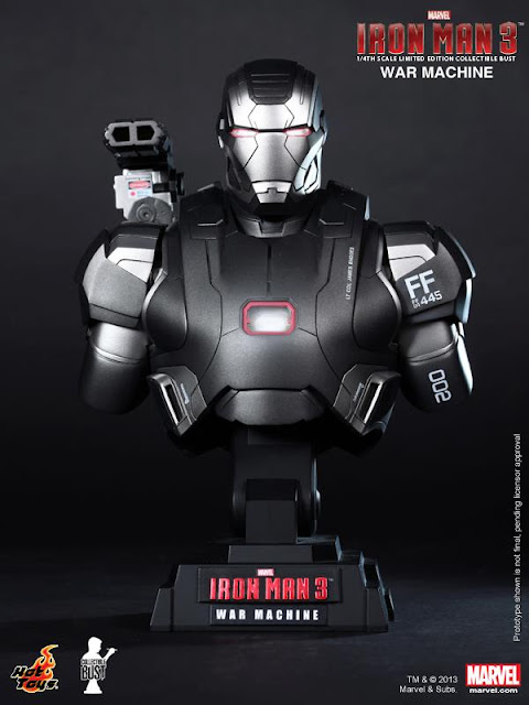 Hot Toys Iron Man 3 - War Machine Bust