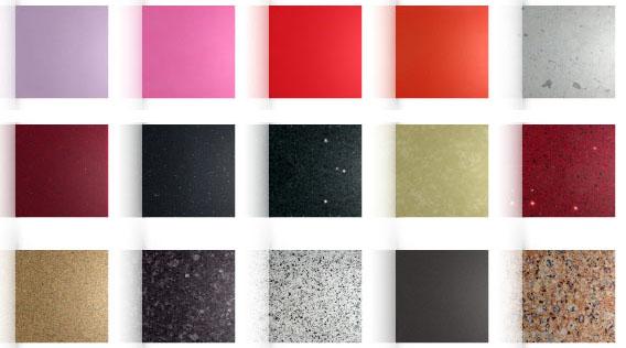 Alternativas para cuidar el medio ambiente nuevos materiales de construccion - Compac colores encimeras ...