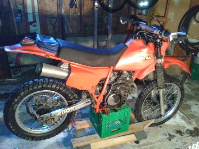 Motorcycling   1984 Honda Xr200r Rebuild