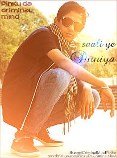 download latest punjabi rap Saali Yeh Duniya - Pinku [New Hindi Inspirational Rap Song 2012]