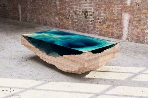 Limited edition coffee table furniture by Christopher Duffy