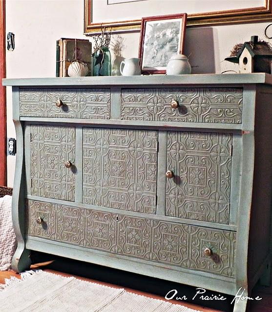 Covington Blue Hc 138 Benjamin Moore: West Furniture Revival: REVIVAL MONDAY FEATURES #34