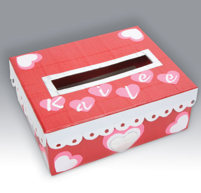 valentine box Valentine Shoe Boxes