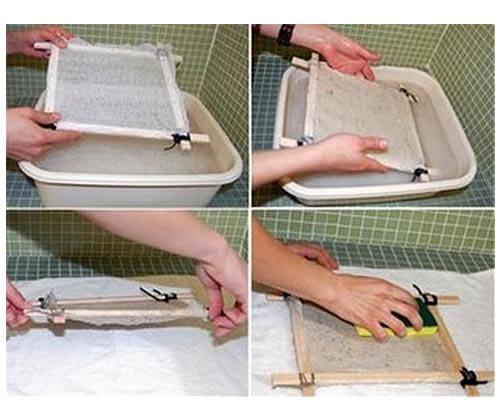 proceso de elaboracion del papel reciclado