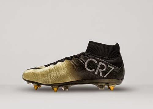 Nike Mercurial CR7 Rare Gold Special for Cristiano Ronaldo
