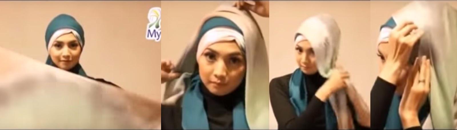 tutorial hijab wisuda pesta3