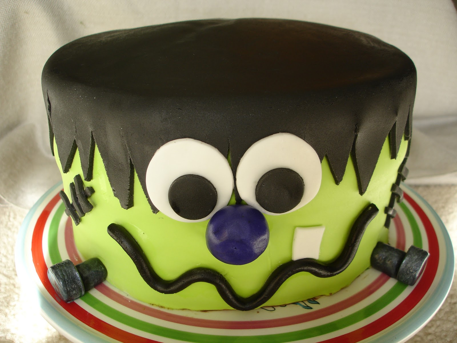 Cake Flair Frankenstein Cake