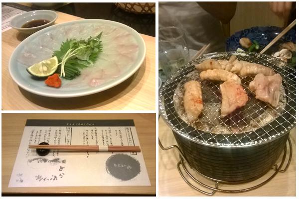 comer fugu en Japón