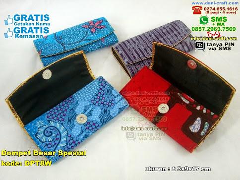Dompet Besar Spesial Karton Kain Batik