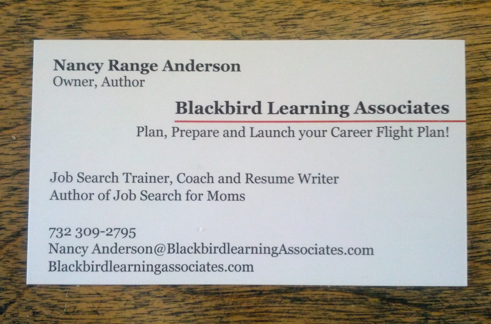 The Flap - Blackbird Learning Associates: Every Job Seeker Needs ...