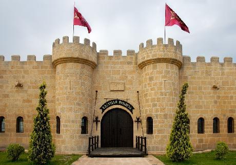 Dormir como en casa dormir en castillos - Hotel castillo de ayud ...