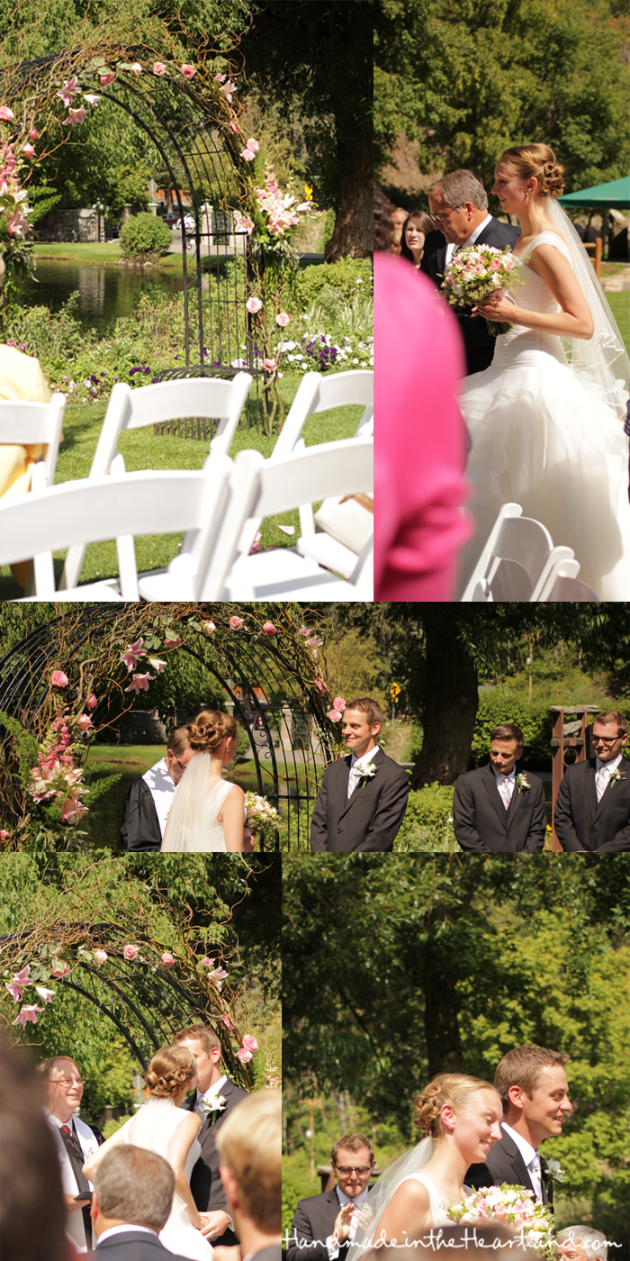 Log Haven Wedding
