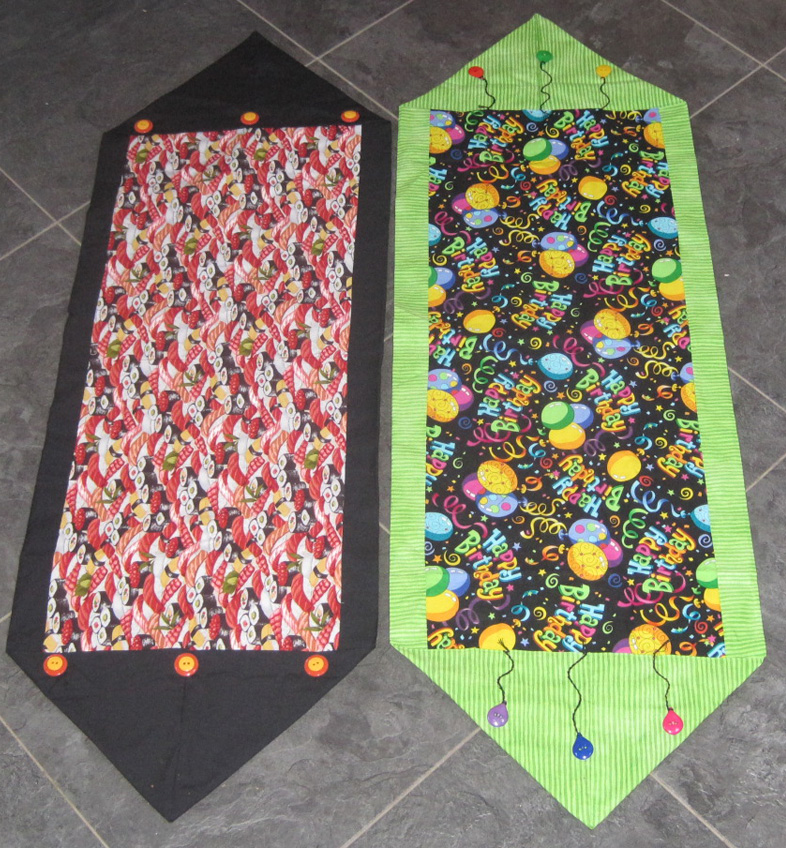 Needlearts adventures workshops spring 2013 for 10 minute table runner directions