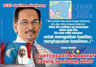 P 153 - Parlimen Sembrong