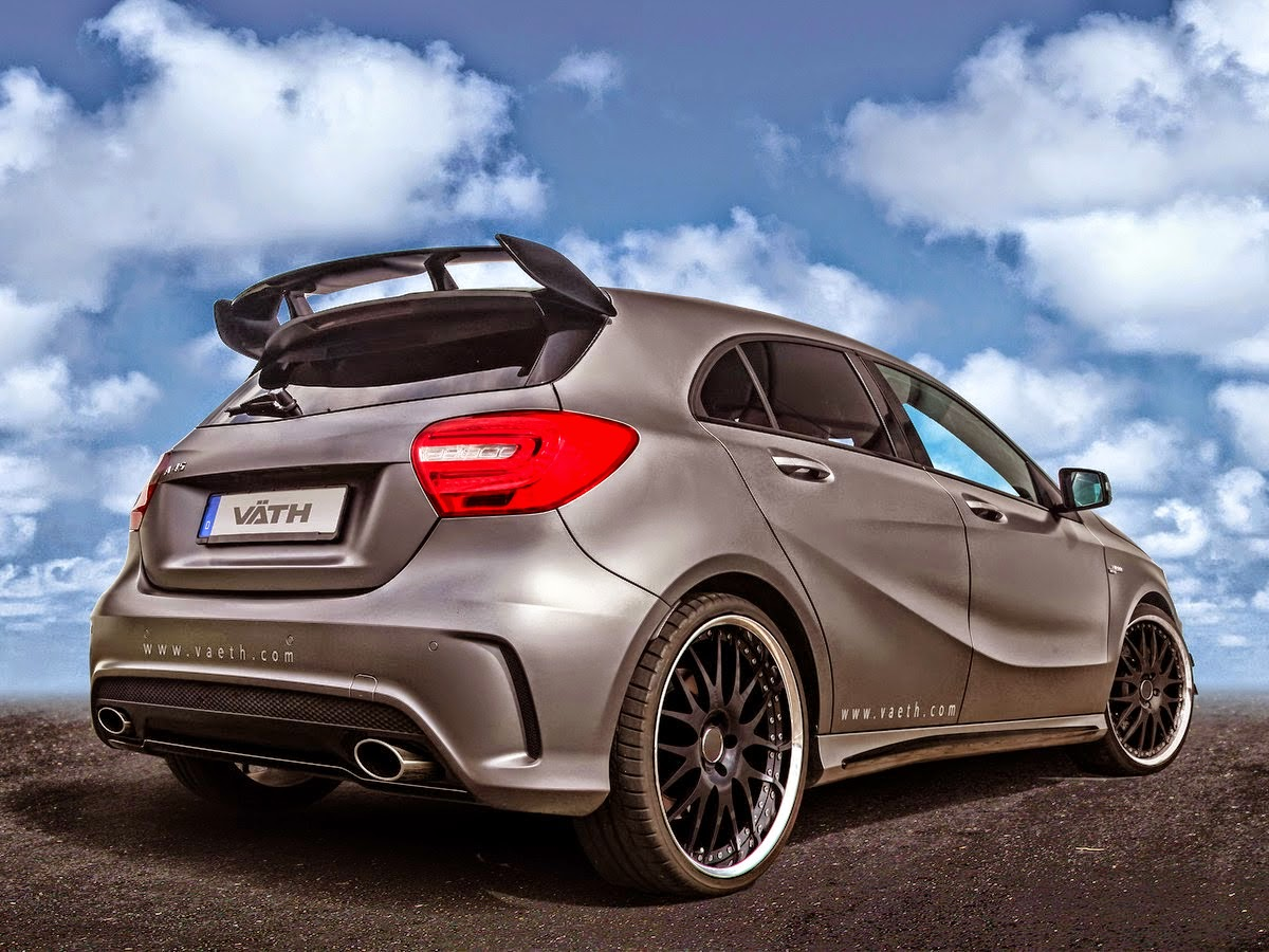 Mercedes Benz W176 A45 Amg By V 196 Th Benztuning