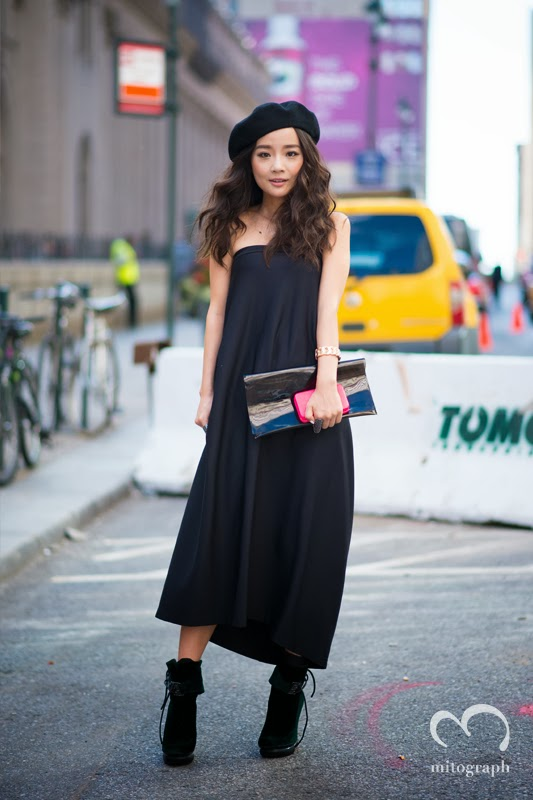mitograph Liu Meiren Before Y3 New York Fashion Week 2014 Spring Summer NYFW Street Style Shimpei Mito