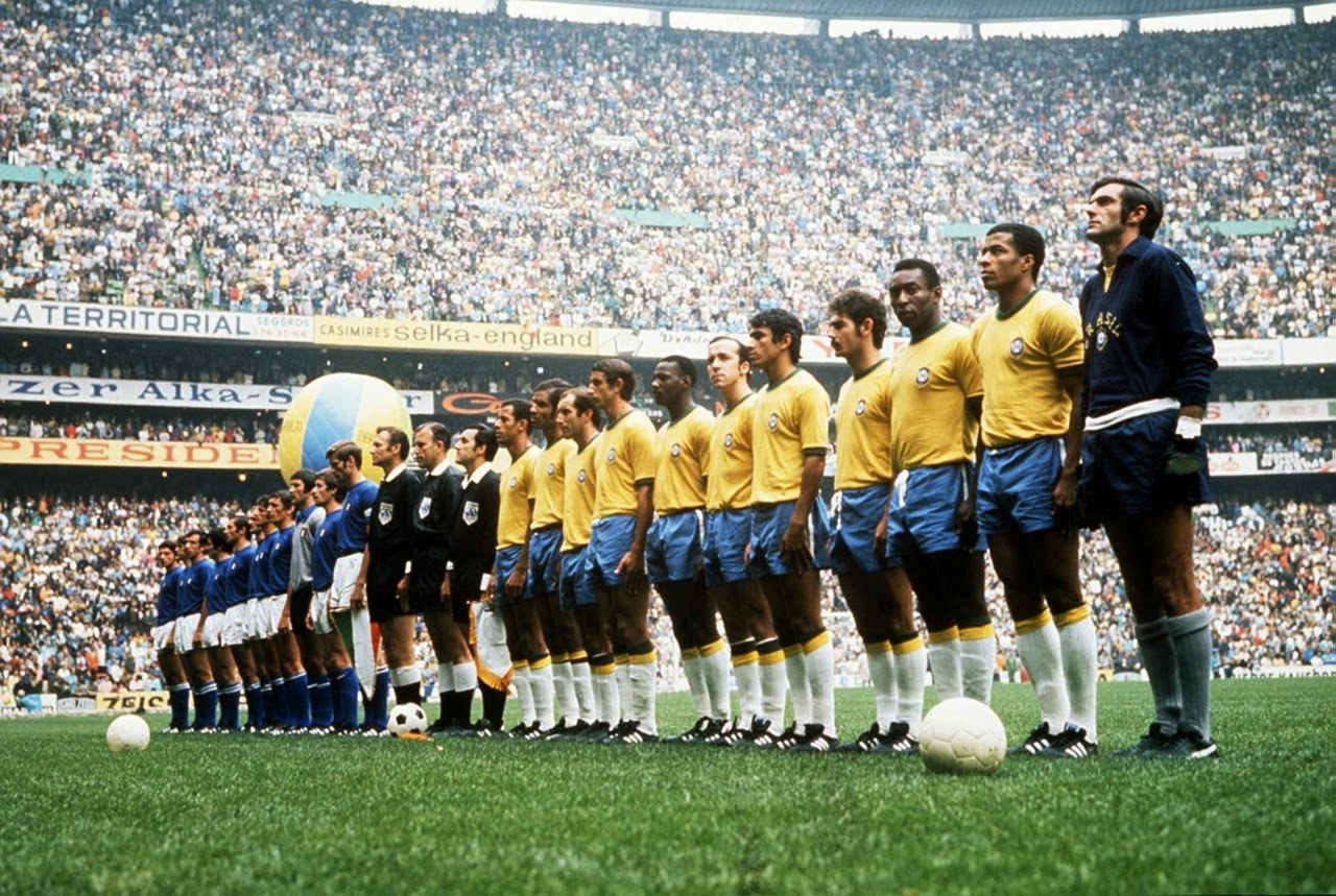 1970 Football World Cup winning Team