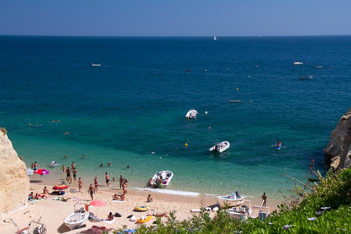 Impresionante playa de Beliche