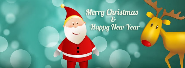 santa claus facebook cover