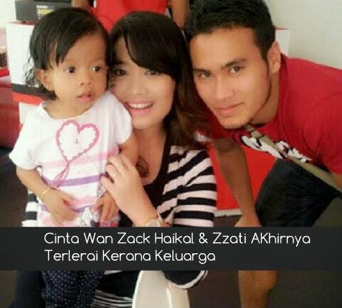 Cinta Wan Zack Haikal & Zzati AKhirnya Terlerai Kerana Keluarga