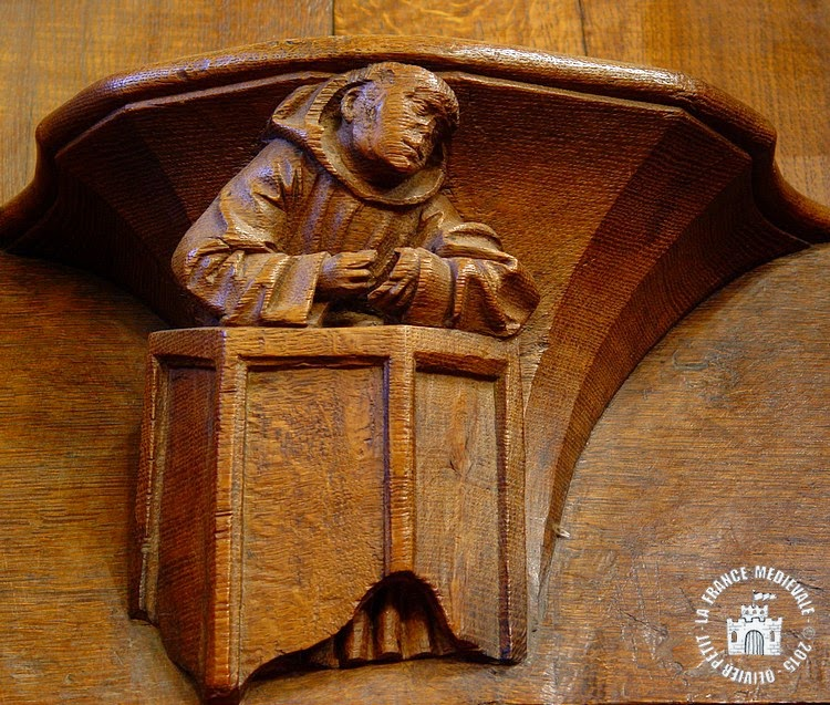PARIS (75) - Musée National du Moyen Age : Miséricordes (XVe siècle)