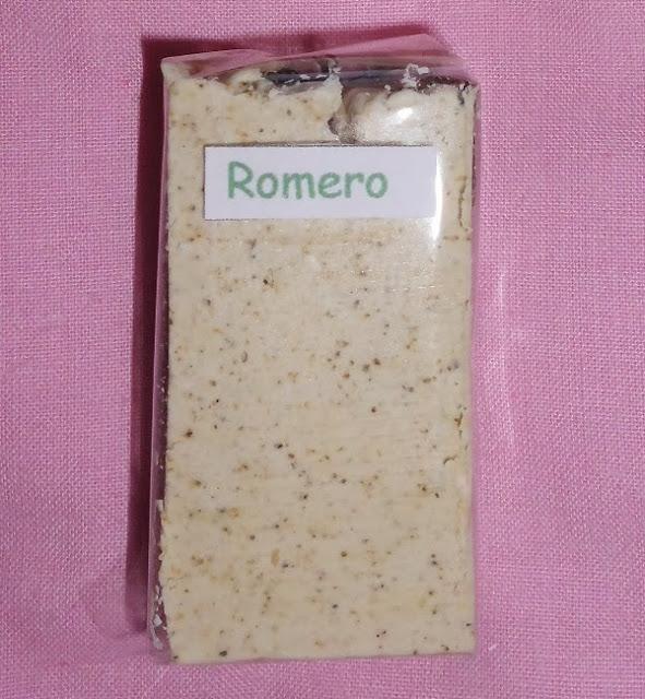 jabón de romero
