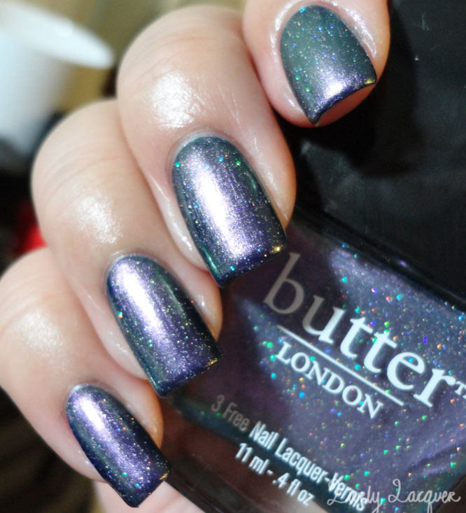 Lively Lacquer: Butter London Knackered & Bossy Boots Swatches and ...
