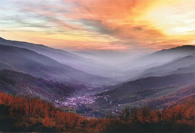 """2º Premio: """"Luces y colores de otoño en el Valle"""" de D. Luis Carlos Santiago Martín"""
