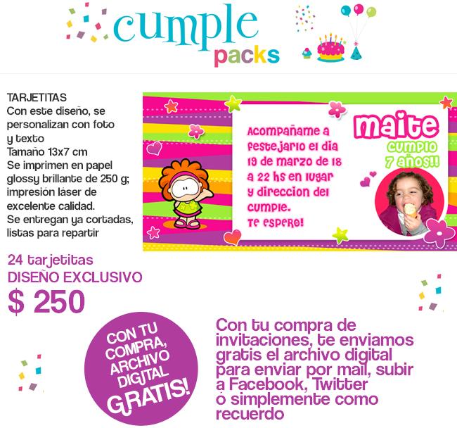 Cumple Packs: GUSANITO. Tarjetas, stickers e imanes personalizados ...