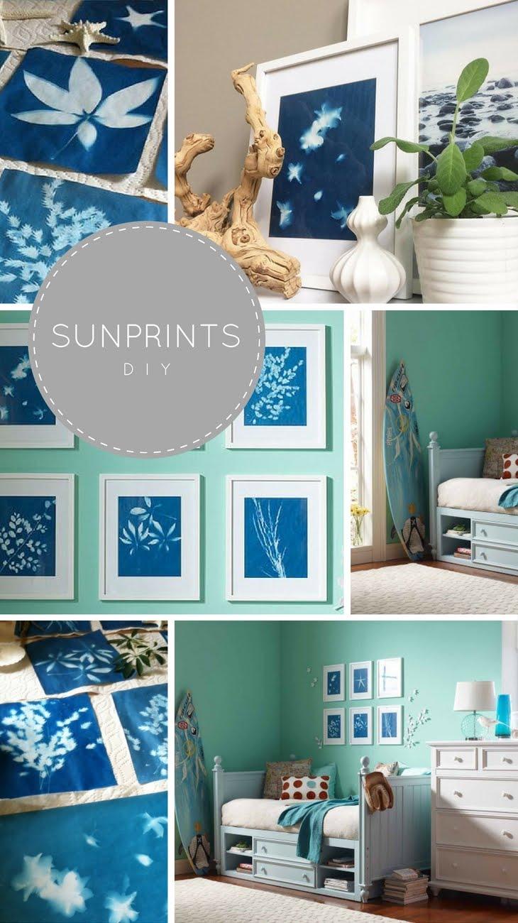 Sunprint DIY