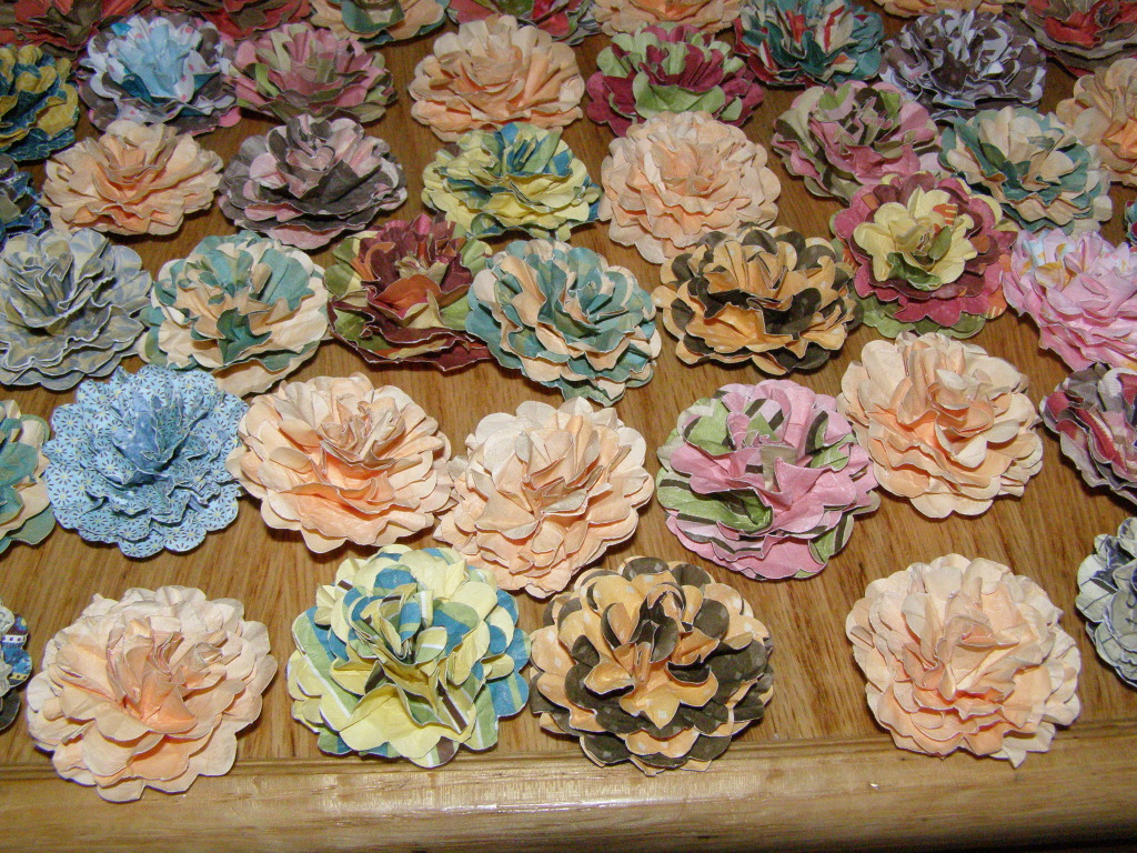 Paper Candie Designs Its Raining Paper Flowers