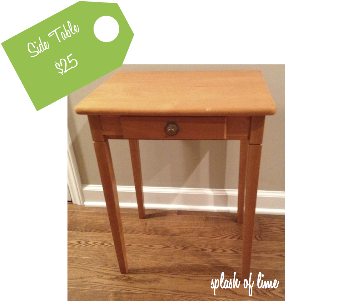 Splash of lime tag sale for 13 a table magasin