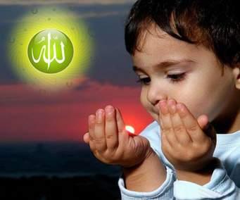 Ajarlah anak-anak berdoa~ jiwanya bersih, Insya Allah doanya  pasti makbul