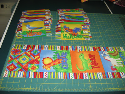 Animal Alphabet Quilt ~ Getting Started