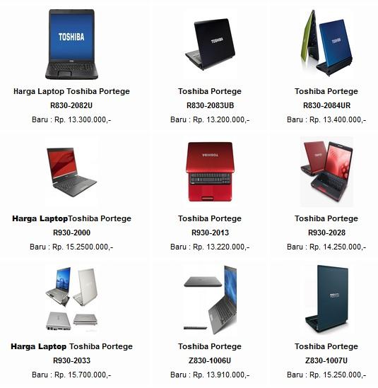 Harga Laptop Toshiba Terbaru Notebokk Toshiba Terbaru Harga Dan