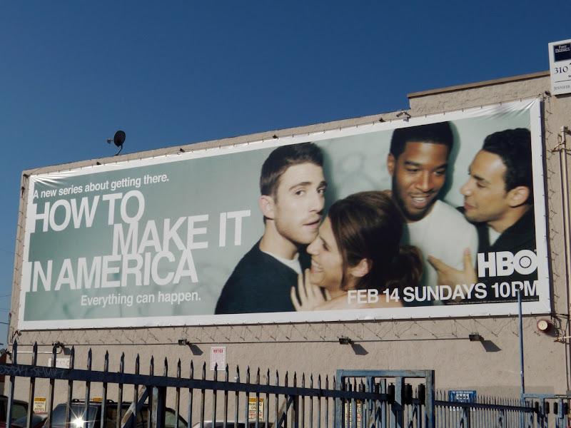 How to make it in America season 1 billboard