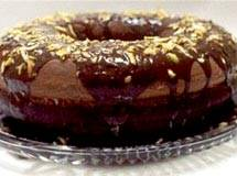 Receita de Bolo de Chocolate com Casca de Laranja