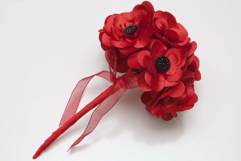 Bouquets y Ramos de Bodas Color Rojo, parte 5