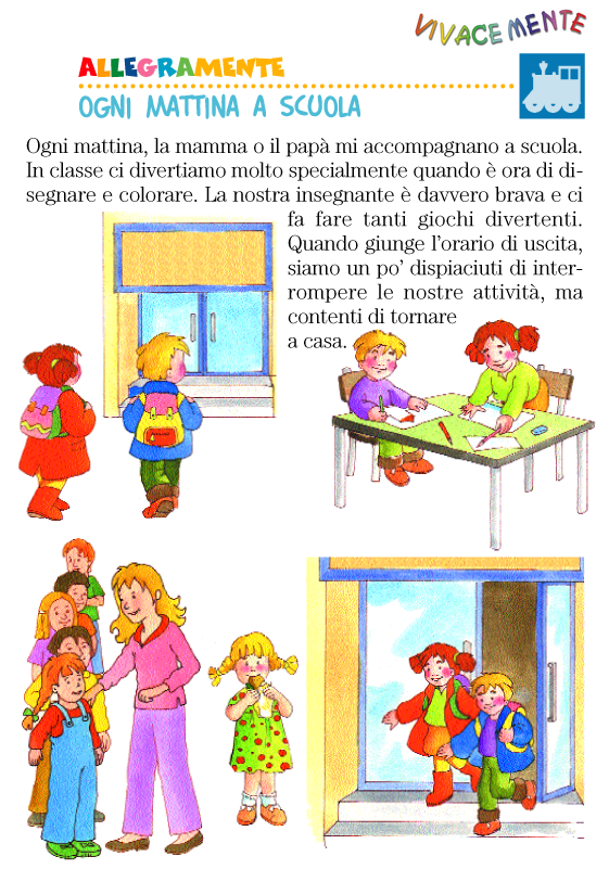 Vivacemente il giornalino del cuore e della mente - Libri di scuola materna stampabili gratuitamente ...