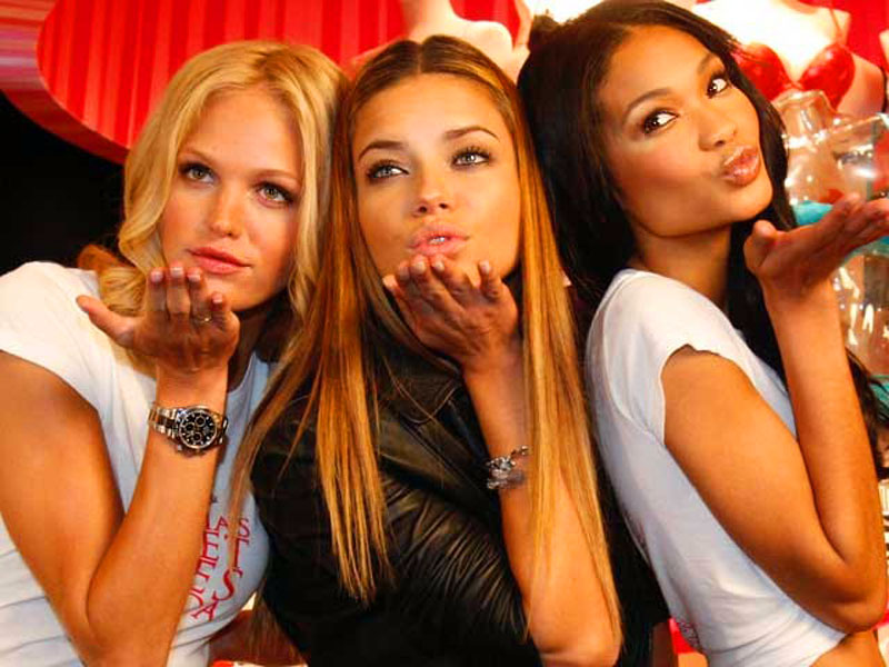 Rolex Hotness: Victoria Secret Models