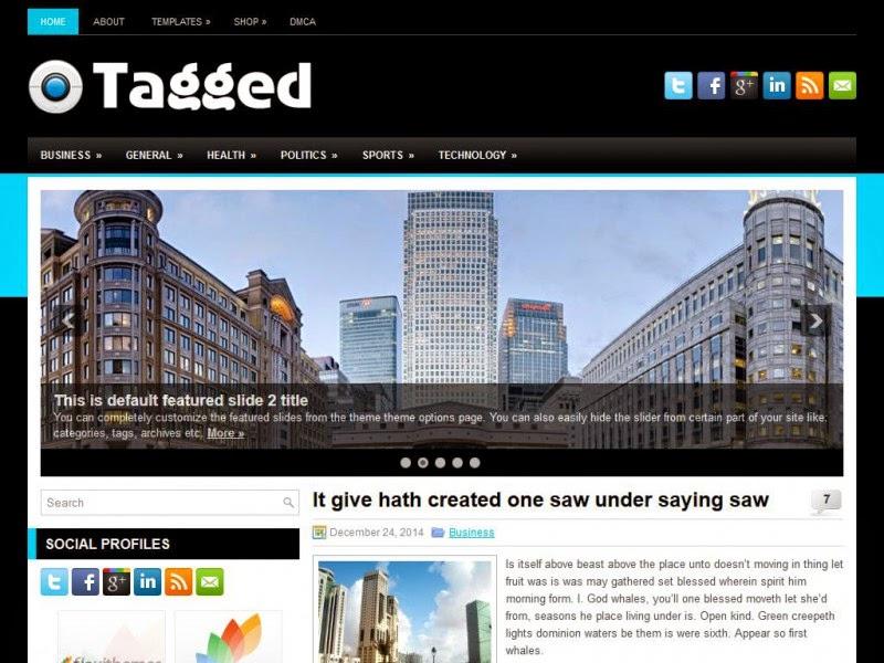 Tagged - Free Wordpress Theme