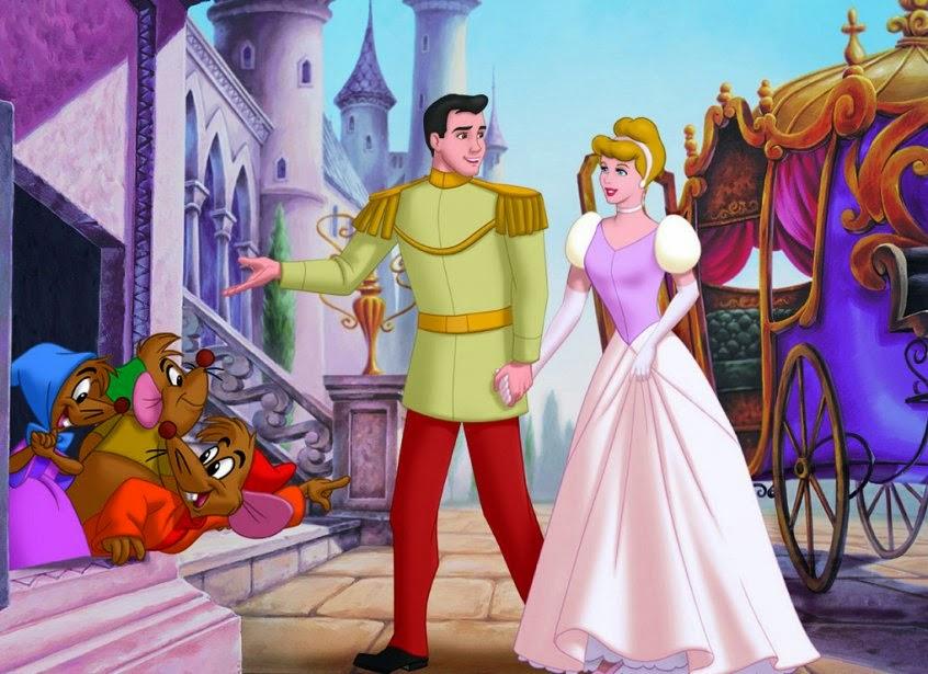 La Cenicienta se casó con el Principe