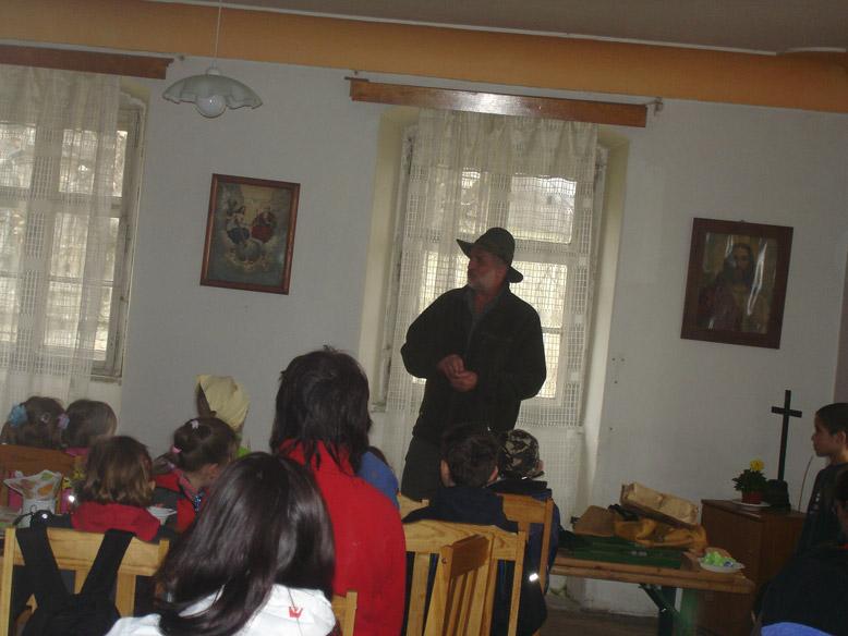Velikonoce na Krásné 17. dubna 2011 - myslivecká přednáška