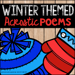 Winter Themed Acrostic Poems