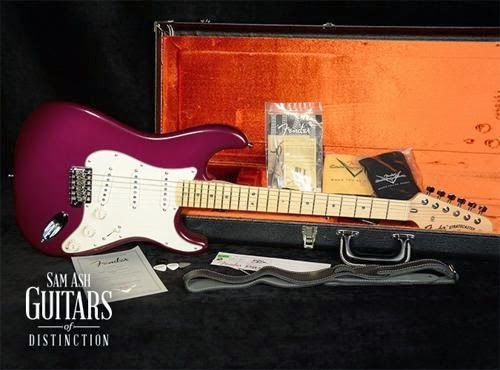Fender Custom Shop Robin Trower Wine Burst Stratocaster