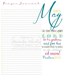 photograph about Printable Prayer Journal Pdf titled A Loved ones For His Glory: May well Prayer Magazine Webpage-Cost-free Printable!