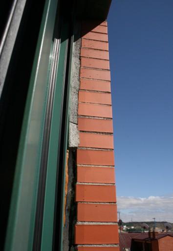 fachada deformada por soleamiento