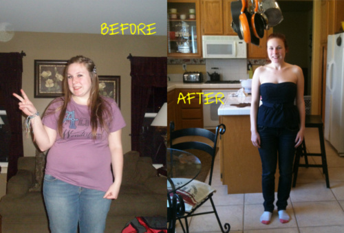 Thinspiration pictures: Before and After thinspo